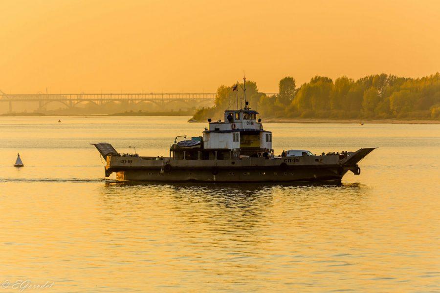 Volga river, Nizhny Novgorod