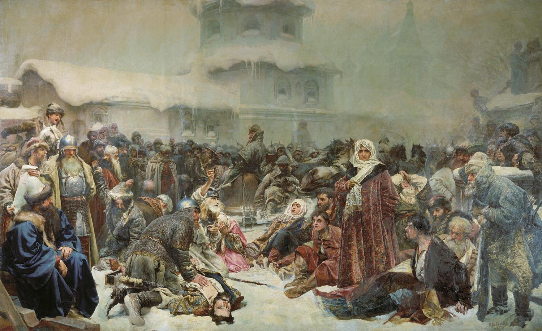 Ivan's destruction of Novgorod's Veche