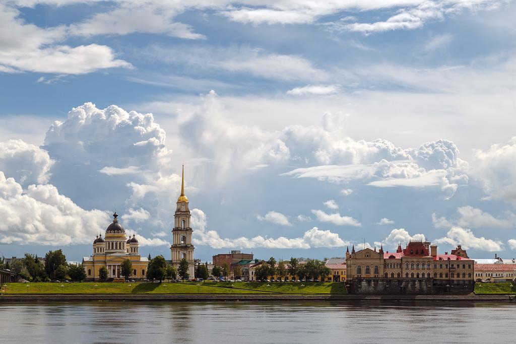 Volga River. Rybinsk