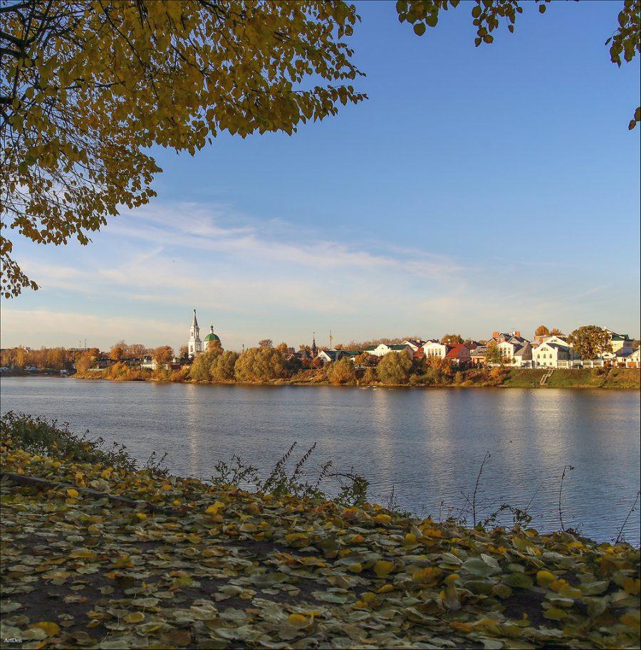 Volga river, Tver