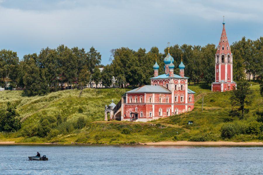 Volga River, Tutaev